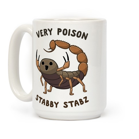 Very Poison Stabby Stabz Coffee Mug