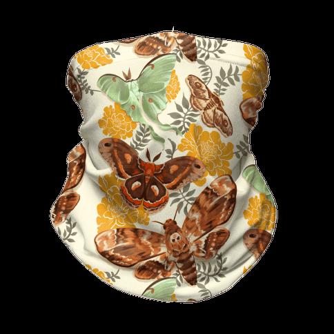 Moths & Marigolds Neck Gaiter