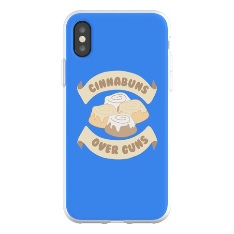 Cinnabuns Over Guns Phone Flexi-Case
