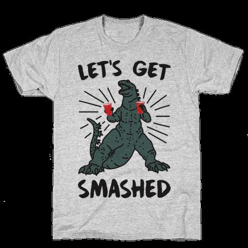 Let's Get Smashed Party Kaiju Mens/Unisex T-Shirt