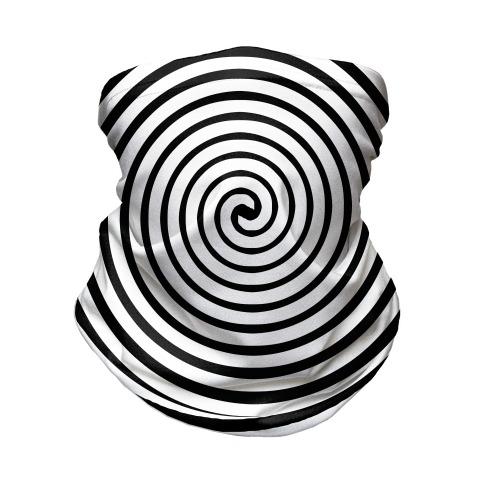 Hypnosis Swirl Neck Gaiter