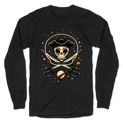Space Pirate Long Sleeve T-Shirt