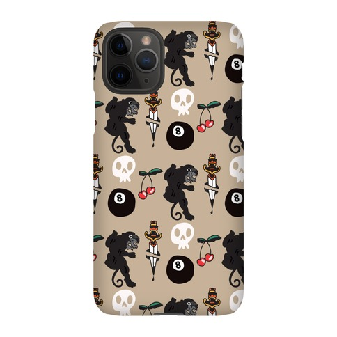 Tattoo Sleeve Pattern Phone Case