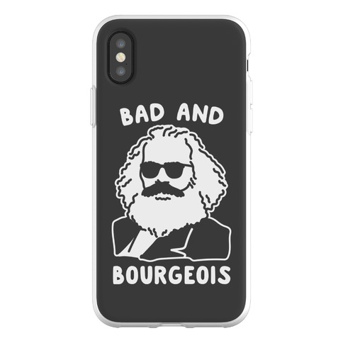 Bad And Bourgeois Phone Flexi-Case