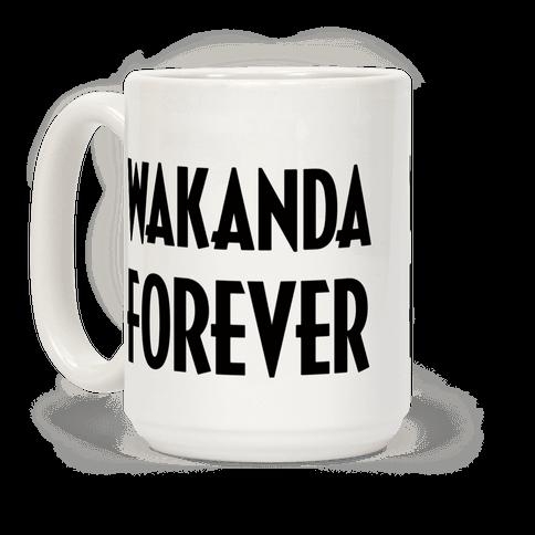 Wakanda Forever Coffee Mug