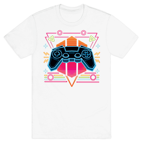 Synthwave Gamer Mens/Unisex T-Shirt