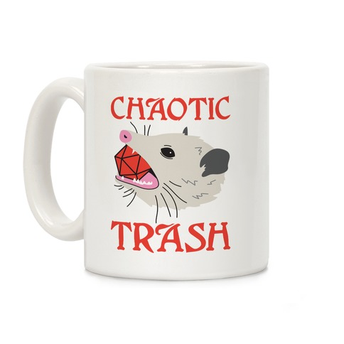 Chaotic Trash (Opossum) Coffee Mug