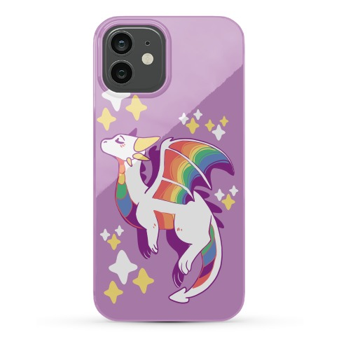 Gay Pride Dragon Phone Case