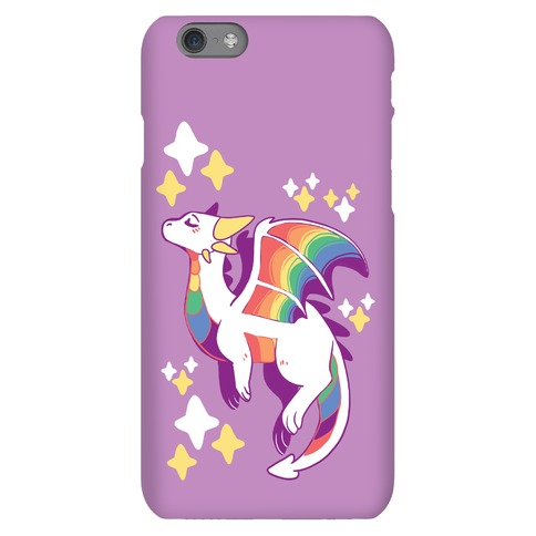 Gay Pride Dragon Phone Case