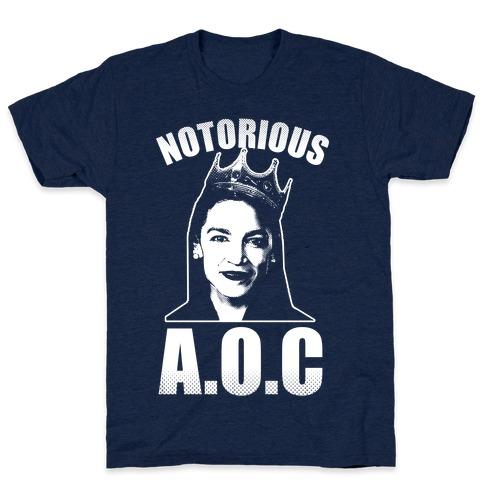 Notorious AOC (Alexandria Ocasio-Cortez) T-Shirt