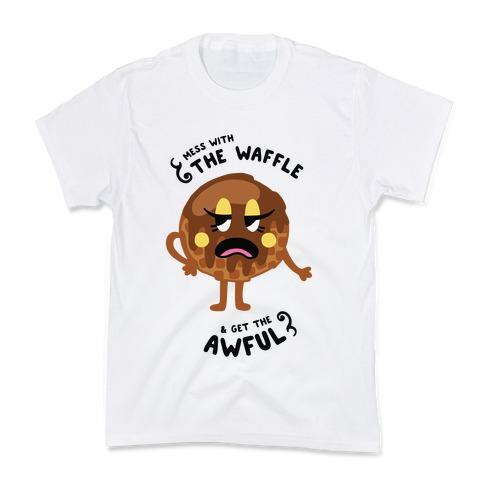 Sassy Waffle Kids T-Shirt