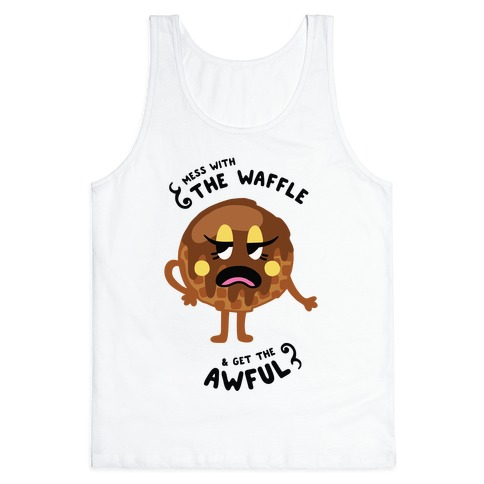 Sassy Waffle Tank Top