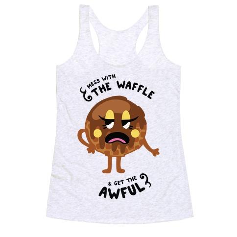 Sassy Waffle Racerback Tank Top