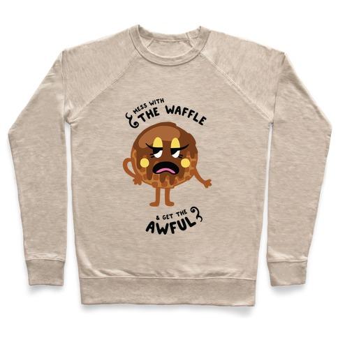Sassy Waffle Pullover