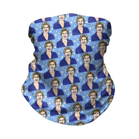 Elizabeth Warren Pattern Neck Gaiter