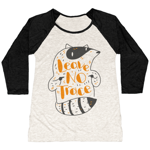Leave No Trace Baseball Tee
