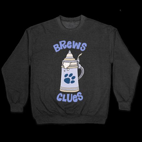 Brews Clues Pullover