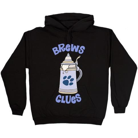 Brews Clues Hooded Sweatshirt