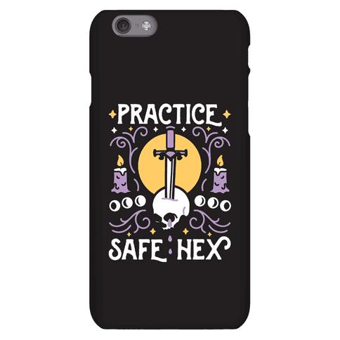 Practice Safe Hex Phone Case