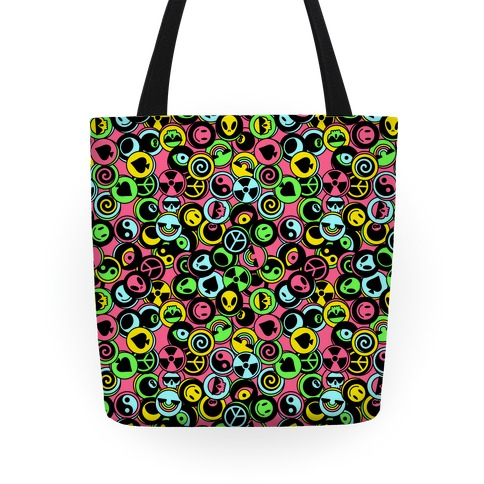 Pogs Collection Pattern Tote