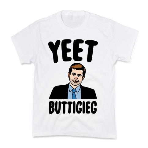 Yeet Buttigieg Parody Kids T-Shirt