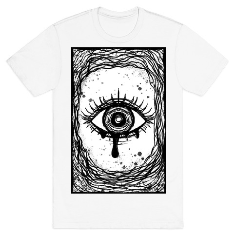 Trippy Eye B&W T-Shirt