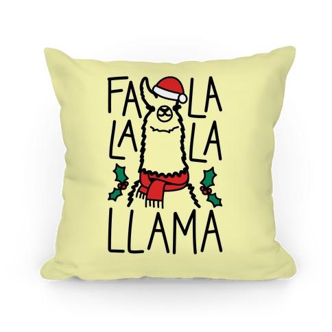 Falalala Llama Pillow