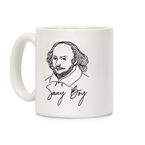 Saucy Boy William Shakespeare Coffee Mug