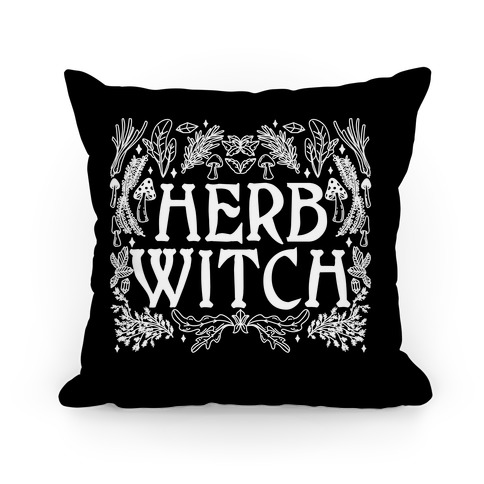 Herb Witch Pillow