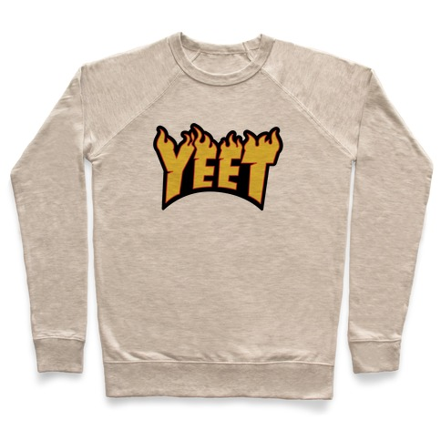 Yeet Thrasher Logo Parody Pullover