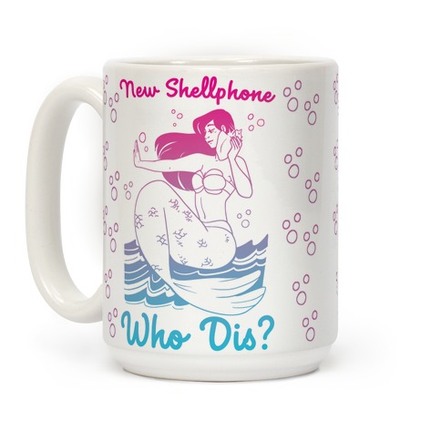 New Shellphone, Who Dis Coffee Mug