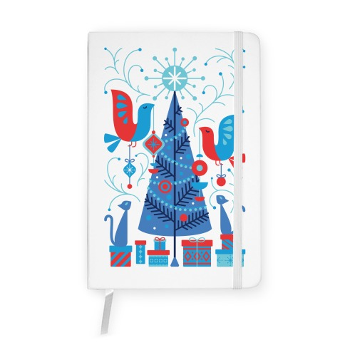 Vintage Christmas Tree Decorating Notebook
