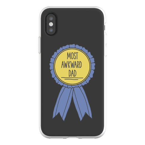 Most Awkward Dad Phone Flexi-Case