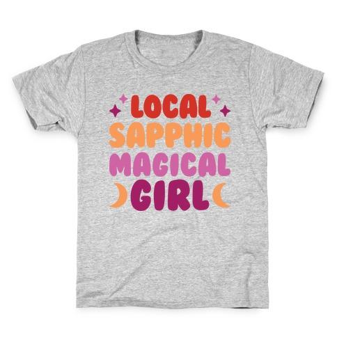 Local Sapphic Magical Girl Kids T-Shirt