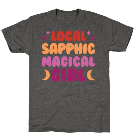 Local Sapphic Magical Girl T-Shirt