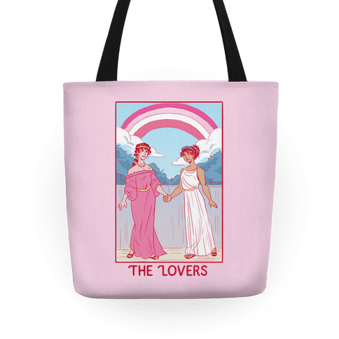 The Lovers - Sappho Tote