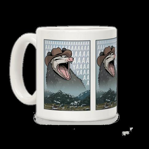 Big Enough Possum Coffee Mug