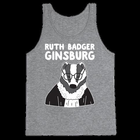 Ruth Badger Ginsburg Tank Top