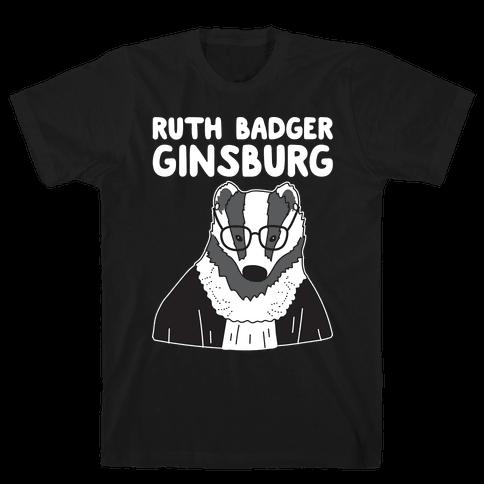 Ruth Badger Ginsburg Mens T-Shirt