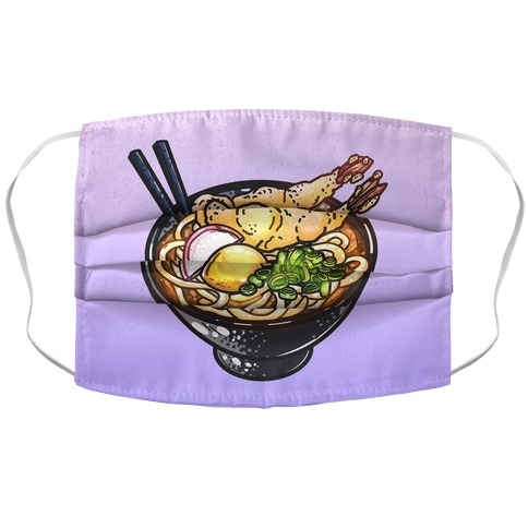 Udon Till I'm Gone Accordion Face Mask