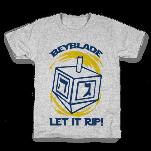 Beyblade Let It Rip Dreidel Kids T-Shirt