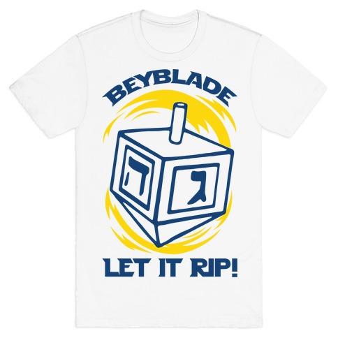 Beyblade Let It Rip Dreidel T-Shirt