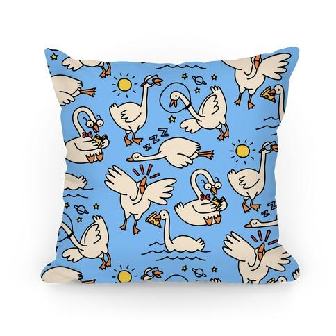 Silly Goose Studies Pillow