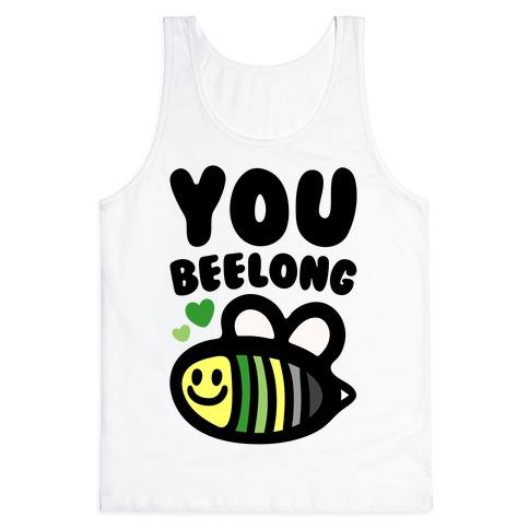Bee Yourself Aromantic Pride Tank Top