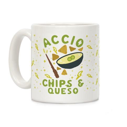 Accio Chips and Queso Coffee Mug
