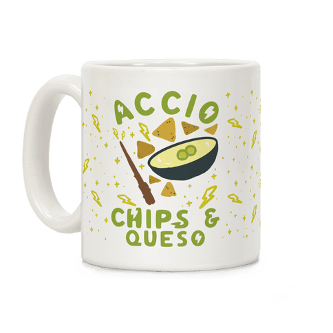 Accio Chips and Queso Coffee Mug