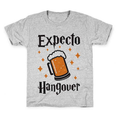 Expecto Hangover (Beer) Kids T-Shirt
