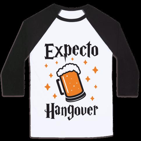 Expecto Hangover (Beer) Baseball Tee