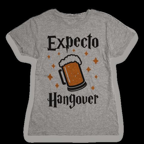 Expecto Hangover (Beer) Womens T-Shirt