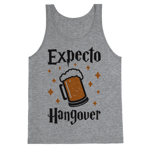 Expecto Hangover (Beer) Tank Top